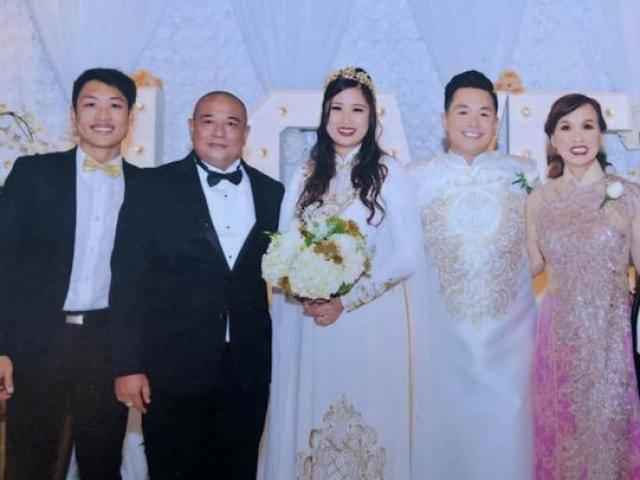 Con rể Hồng Vân quẩy cực chất trong đám cưới tại California