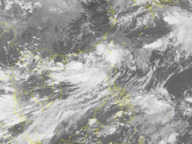 Biển Đông lại xuất hiện áp thấp nhiệt đới, vùng núi phía Bắc mưa lớn