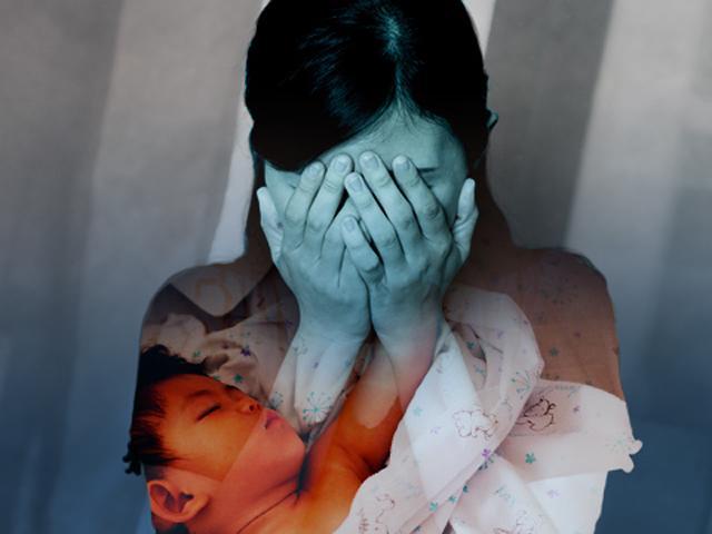 Đau đớn mẹ trẻ tự tử vì con quái vật hầu hết chị em gặp phải sau sinh
