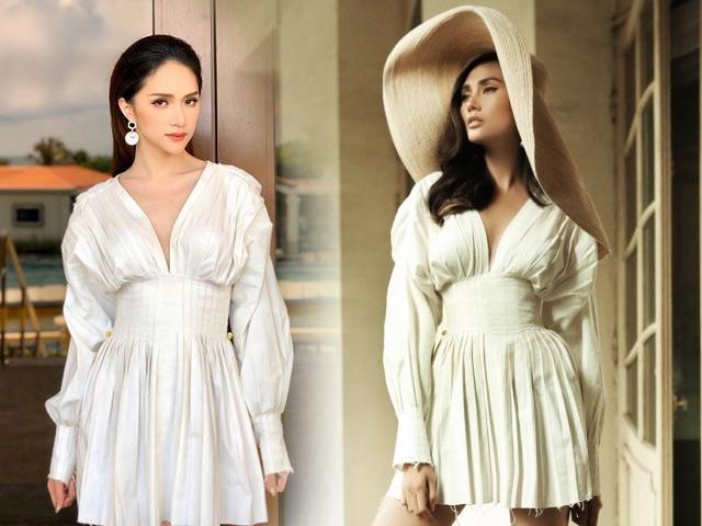 Mới đầu tuần mà Hương Giang và Võ Hoàng Yến đã chạm trán váy áo!