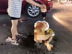 Công an Thanh Hóa thông tin vụ cô gái bị lột đồ, đổ nước mắm, ớt bột lên người