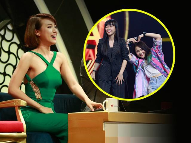 Hoàng Oanh sững sờ khi thấy bản sao Hoàng Yến Chibi trên sóng truyền hình