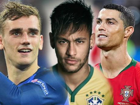 """Top 10 """"cực phẩm"""" sân cỏ World Cup 2018: điển trai như tài tử, thần thái như người mẫu"""