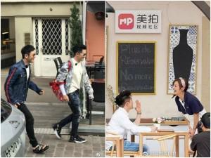Ngoài Huỳnh Hữu Long, có hai người đàn ông vẫn rất nhiệt tình và ga lăng với Triệu Vy