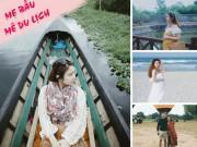 Chiến tích 8 tháng mang bầu đi 4 chuyến du lịch cả trong, ngoài nước của mẹ trẻ Hà Nội