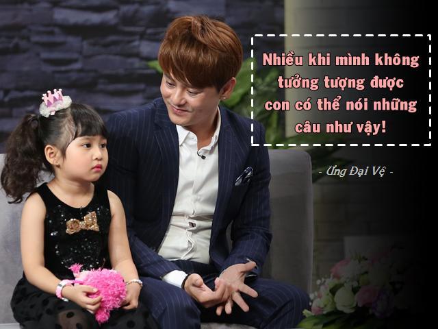 Con gái biết điều của bố đơn thân Ưng Đại Vệ làm anh xúc động vì một câu nói!