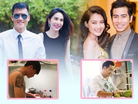 2 sao Việt có chồng sẵn sàng xắn tay vào bếp: Bao đắng cay đổi lấy hạnh phúc tràn đầy