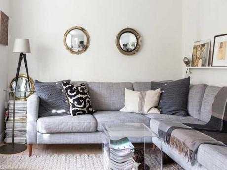 Nhà nhỏ đến mấy cũng sống thoải mái nhờ 10 cách trang trí phòng khách thông minh