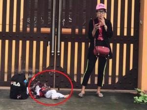 """Mẹ Việt sốc trước cảnh """"hotgirl quỵt tiền"""" vứt con dưới đường, lên tiếng kêu gọi tước quyền làm mẹ"""