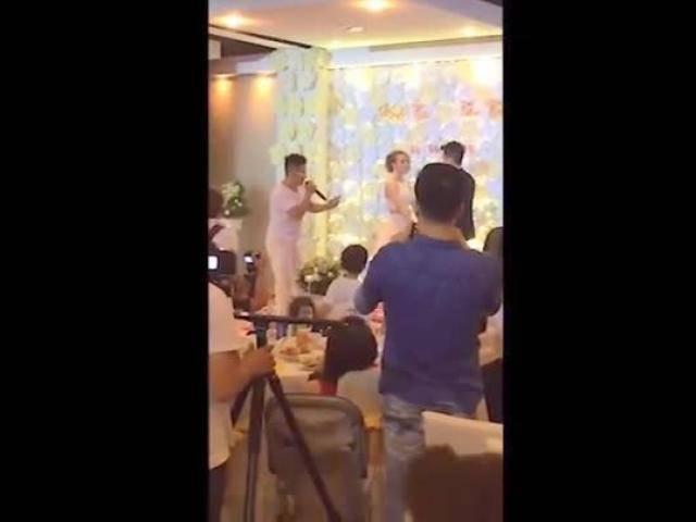 Bóc phốt người yêu cũ trong đám cưới, chàng trai khiến hai họ cười không điểm dừng