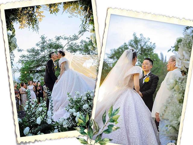 Đám cưới cổ tích của nam thần chuyển giới Tú Lơ Khơ và nữ doanh nhân hơn 21 tuổi
