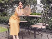 Thời trang - Angela Phương Trinh nổi bật dưới nắng hè cùng chiếc túi ngộ nghĩnh