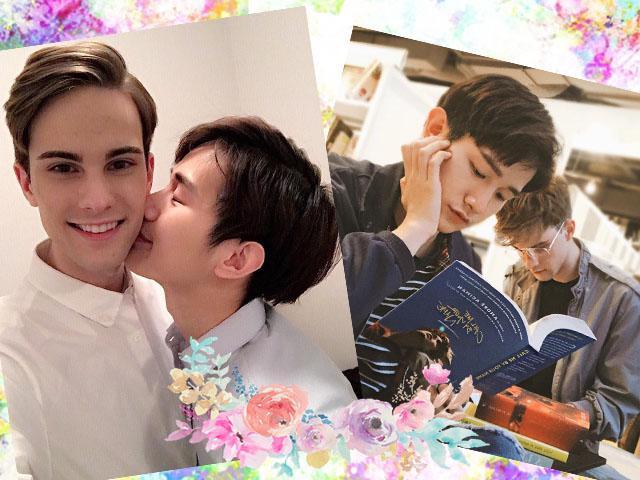 Chị em tiếc ngẩn ngơ ngắm cặp đôi đồng tính nam đẹp hết phần thiên hạ lại cực ngọt ngào