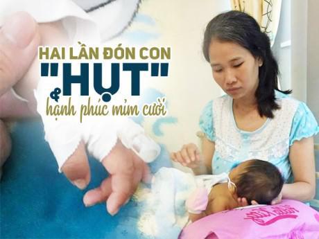 Mẹ 8X từng thủng tử cung vì nạo thai, gạt nước mắt cùng con sơ sinh trị bệnh nguy hiểm