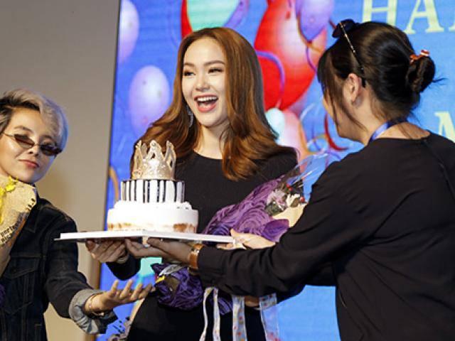 Sinh nhật tuổi 32, Minh Hằng tự hứa sẽ trở thành nữ hoàng trên mọi lĩnh vực giải trí