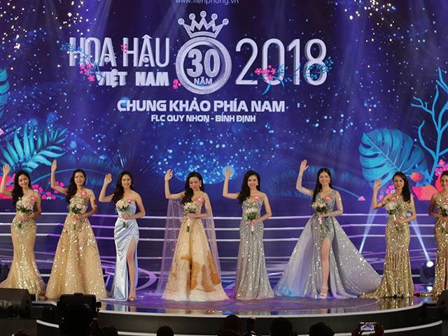 HOT: Đây là 19 đoá hoa xinh đẹp đầu tiên vào vòng chung kết của HHVN 2018