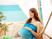 """Những lưu ý  """" sống còn """"  trong ngày nắng nóng mẹ bầu phải nhớ để mẹ khỏe con ngoan"""