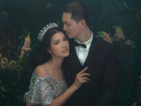 Chưa biết ngày nào cưới nhưng Trang Trần vẫn tung trọn bộ ảnh cưới nhân dịp sinh nhật chồng