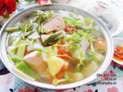 Bếp Eva - Cách nấu canh chua cá hồi thơm ngon đến giọt cuối cùng