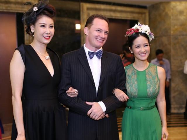 Hà Kiều Anh, Mỹ Linh động viên Hồng Nhung sau khi ly hôn chồng Tây