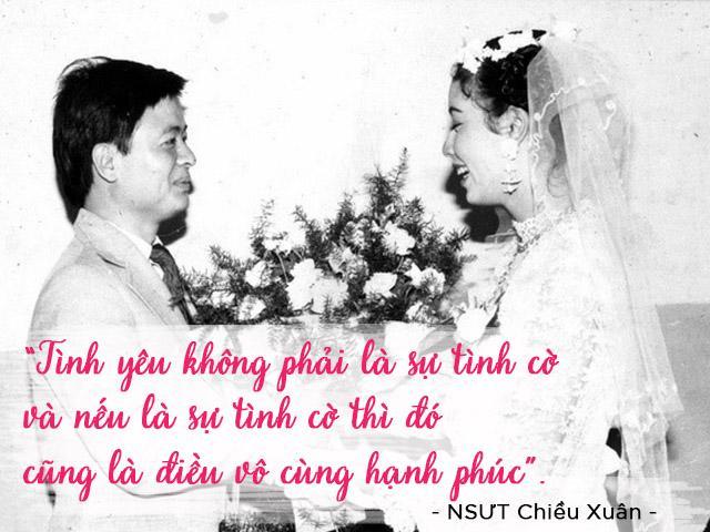 Chuyện tình yêu là cưới năm 20 tuổi, từng bị nhà trường kỷ luật của NSƯT Chiều Xuân