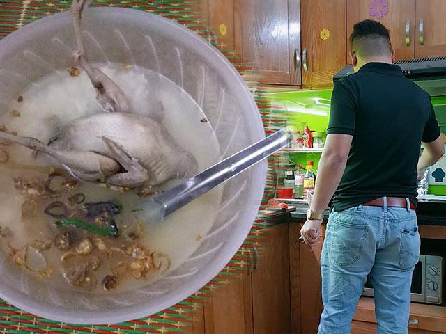 Cháo chim chồng nấu khiến vợ bầu vừa ăn vừa khóc, tưởng cảm động nhưng có gì đó sai sai