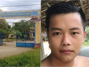 Thông tin bất ngờ vụ cô giáo trực hè ở trường bị kẻ bịt mặt xông vào hiếp dâm