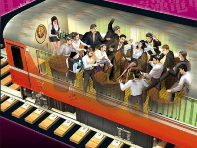 Hãi hùng tiệc thác loạn điên rồ của 1 nữ 18 nam trên toa tàu