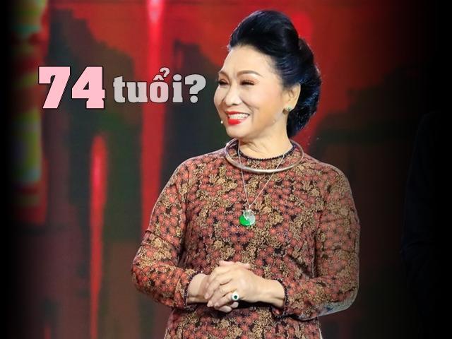 Lỡ tiết lộ tuổi thật trên truyền hình, ai ngờ NSND Bạch Tuyết 74 tuổi vẫn trẻ đẹp cỡ này!