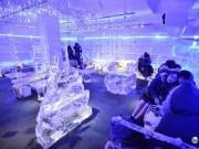 Không gian kì lạ bên trong quán cafe đóng băng -10 độ độc nhất Hà Nội