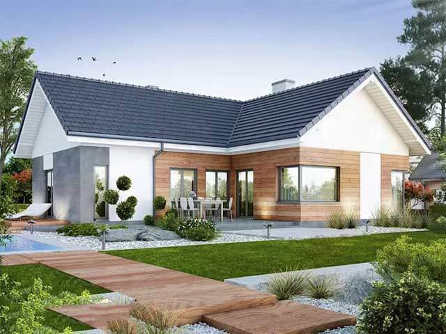 Những mẫu nhà đẹp 1 tầng hiện đại nhất, giá chỉ từ 300 triệu cho vợ chồng thu nhập thấp