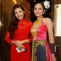 Hoàng Thu - Diệu Linh trong ngày đầu tham dự Siêu mẫu Châu Á