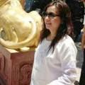 Làng sao - Tăng cân, Triệu Vy bị đồn có bầu lần hai
