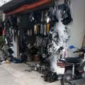"""Tin tức - Chợ """"luộc"""" đồ xe nổi tiếng nhất Sài Gòn"""