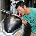 Làng sao - Danh hài Tấn Beo được trả lại xe bị mất trộm