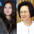 """Làng sao - Quỳnh Dao không vừa lòng với """"Én nhỏ"""" Triệu Vy"""