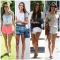 Thời trang - Alessandra Ambrosio sexy mê hoặc với quần sooc