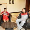 Hậu trường - Công Vinh xuất hiện tại họp báo của Arsenal
