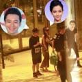 Làng sao - Huỳnh Hiểu Minh đưa bạn gái vào khách sạn
