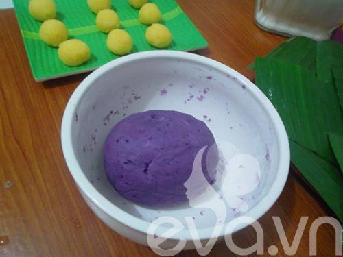 banh khoai lang tim nhan dau xanh - 5