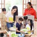Làng sao - Khánh Thi giản dị nấu ăn cho người già