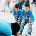 """Làm mẹ - """"Nổi bần bật"""" hai nhóc nhà MC Quang Minh"""