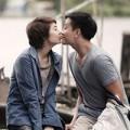 Minh Hằng bất ngờ  ' khóa môi '  Lương Mạnh Hải