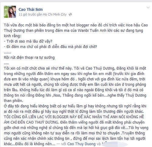 "cao thai son ""minh oan"" cho thuy duong - 5"