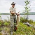 """Tin tức - Video: Tổng thống Putin câu đước cá cá """"khủng"""" nặng 21 kg"""