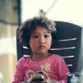 Làm mẹ - Con gái Thái Thùy Linh nét xinh cá tính