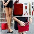 Thời trang - Eva khéo tay: Biến túi đựng bút thành túi xách nhiều ngăn