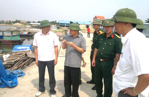 quang ninh – thai binh don suc chong bao - 1