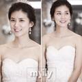 """Làng sao - Ngắm cựu Hoa hậu Hàn """"thử"""" trước váy cưới"""