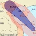 Đêm 7/8, bão số 6 tấn công các tỉnh phía Đông Bắc bộ